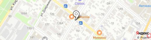 Спутник ТВ на карте Армавира
