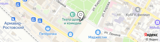 МТС на карте Армавира