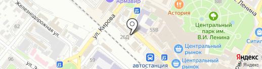 ТВ-МИР на карте Армавира