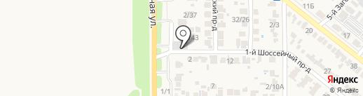 Автосервис на карте Заветного