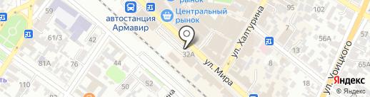 Магазин игрушек на карте Армавира