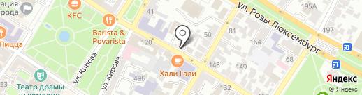 Адвокатский кабинет Шефелевой Е.А. на карте Армавира