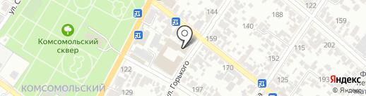 Жилхоз на карте Армавира