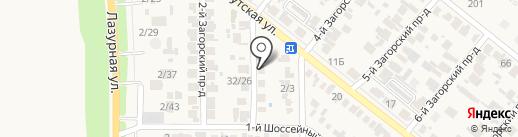 ТВС-Сервис на карте Заветного