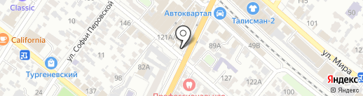 Хозяйственный магазин на карте Армавира