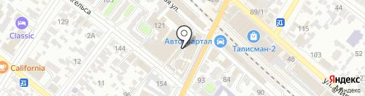 Магазин спутникового оборудования на карте Армавира