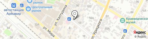 3-00-59 на карте Армавира
