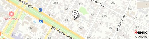 Армавиргоргаз на карте Армавира
