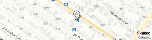 Марта на карте Армавира