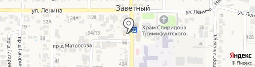 Почтовое отделение №42 на карте Заветного