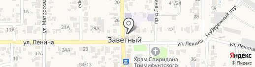 Участковый пункт полиции на карте Заветного