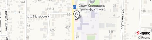 Амбулатория на карте Заветного