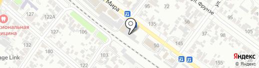 Экстон на карте Армавира