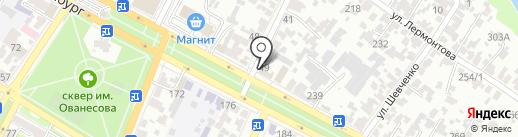 Почтовое отделение №9 на карте Армавира