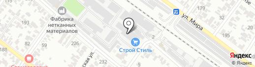 Строй Стиль на карте Армавира