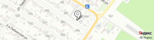 Мойдодыр на карте Армавира