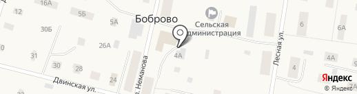 Продуктовый магазин на карте Боброво