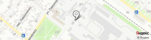 Служба эвакуации автомобилей на карте Армавира