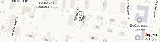 Межпоселенческая центральная библиотека Приморского района на карте Боброво