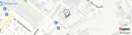 Банкомат, Россельхозбанк на карте Армавира