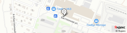 АВТОЦЕНТР ГЛОБУС на карте Тамбова