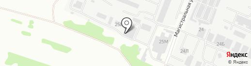Столярный цех на карте Тамбова