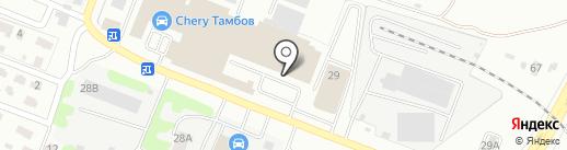 Citroen на карте Тамбова