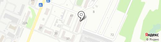 Магазин канцтоваров и бытовой химии на карте Тамбова