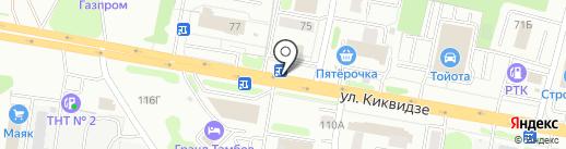 Банкомат, Сбербанк, ПАО на карте Тамбова