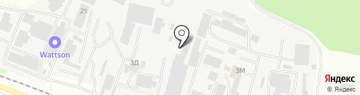 Агрострой на карте Тамбова
