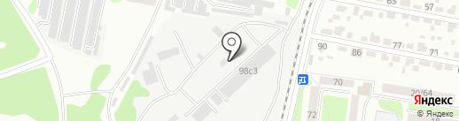 Базис на карте Тамбова