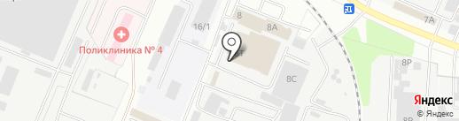 Сластена на карте Тамбова