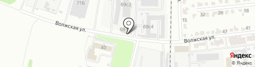 Провиант-Холод на карте Тамбова