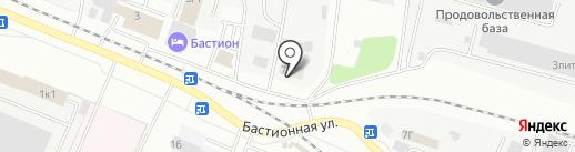 Флаттер на карте Тамбова