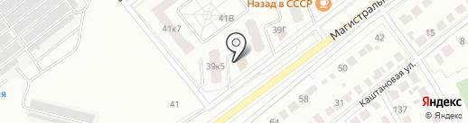 Компания Козерог на карте Тамбова