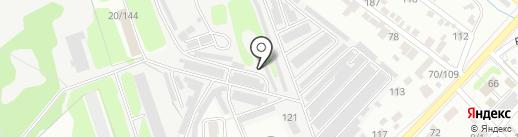 Форсаж на карте Тамбова