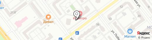 Магазин стройматериалов на карте Тамбова