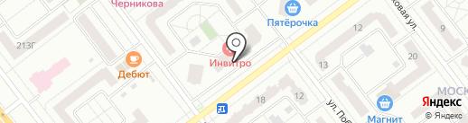 Авто Свадьба на карте Тамбова