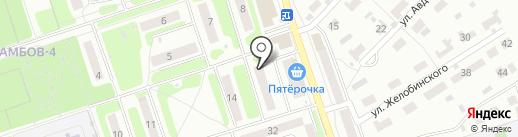 Лифтмонтаж на карте Тамбова