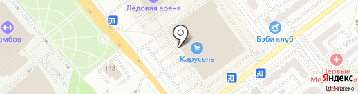 Bravo city на карте Тамбова