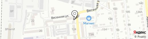Магазин продуктов на карте Тамбова