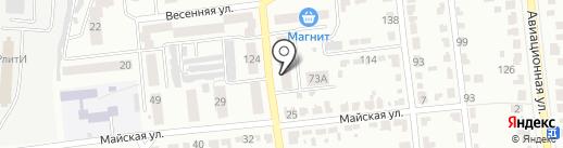 Магазин кондитерских изделий на карте Тамбова