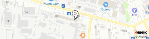Ветстандарт на карте Тамбова
