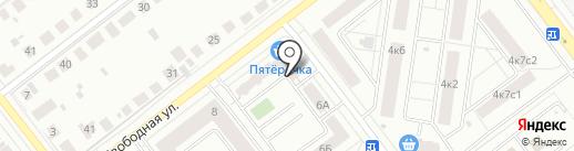 Управляющая компания Современник на карте Тамбова