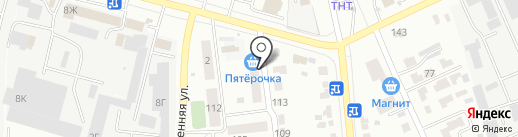 Магазин косметики, игрушек и сувениров на карте Тамбова