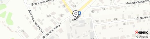 Электросервис на карте Тамбова