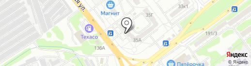 КраскиДекор на карте Тамбова