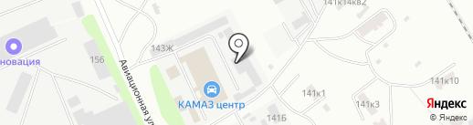 Ремторг на карте Тамбова