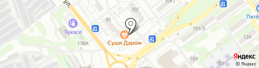 Магазин стройматериалов и сантехники на карте Тамбова