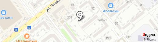 Киоск по ремонту обуви и ключей на карте Тамбова